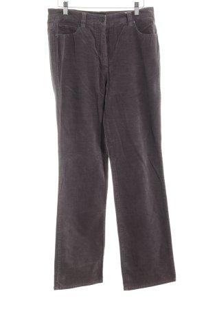 Gerry Weber Corduroy Trousers grey casual look