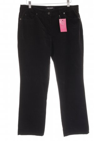 Gerry Weber Corduroy Trousers black casual look