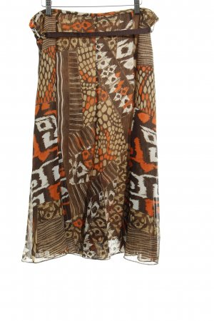 Gerry Weber Crash Skirt abstract pattern extravagant style