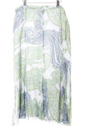 Gerry Weber Jupe à plis motif floral style décontracté