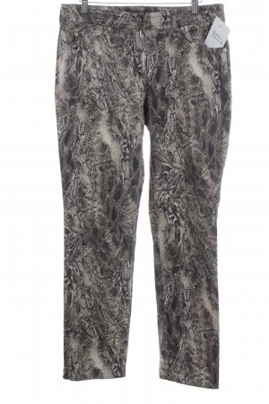 Gerry Weber Five-Pocket-Hose Animalmuster Reptil-Optik