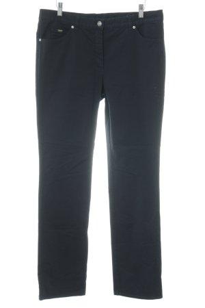Gerry Weber Pantalone cinque tasche blu scuro stile casual