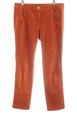Gerry Weber Pantalón de cinco bolsillos naranja oscuro look casual