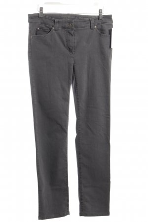 Gerry Weber Five-Pocket-Hose grau Casual-Look