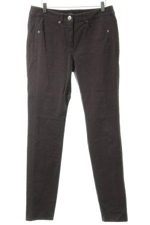Gerry Weber Pantalone cinque tasche marrone-grigio stile classico