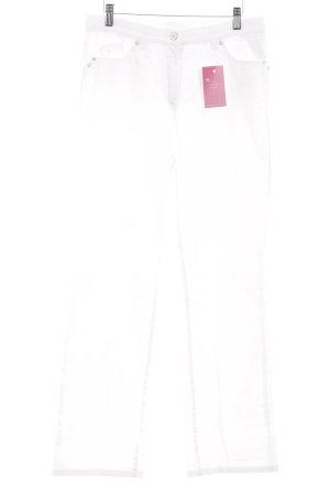 "Gerry Weber Pantalone cinque tasche ""Romy R"" bianco sporco"
