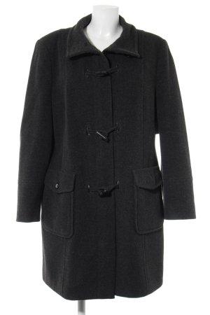 Gerry Weber Geklede jas donkergrijs gestippeld casual uitstraling