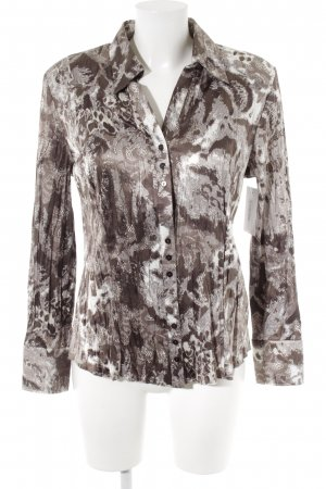 Gerry Weber Glanzbluse abstraktes Muster Casual-Look