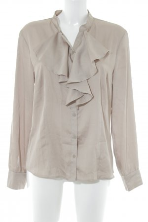 Gerry Weber Glanzbluse beige Business-Look