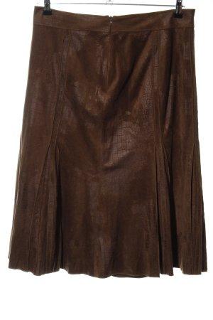 Gerry Weber Flared Skirt brown elegant