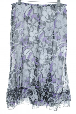 Gerry Weber Godet Skirt flower pattern street-fashion look