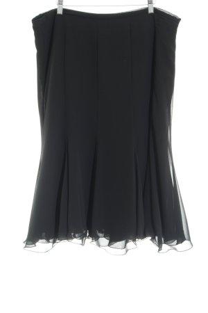 Gerry Weber Godet Skirt black casual look