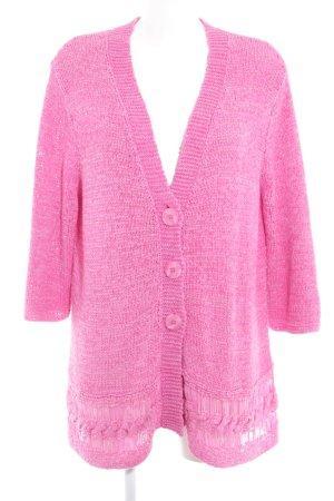 Gerry Weber Grobstrickjacke pink Casual-Look