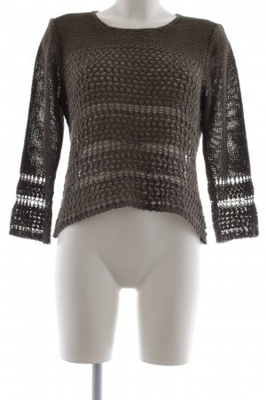 Gerry Weber Pullover all'uncinetto cachi stile casual