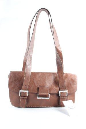 Gerry Weber Handtasche braun Reißverschlusstasche außen