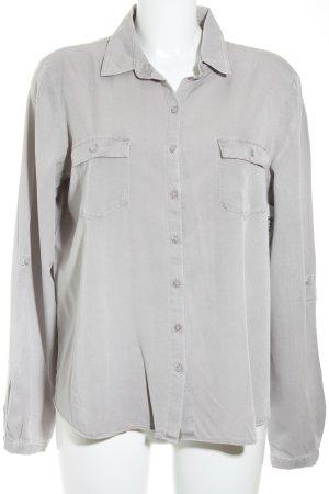 Gerry Weber Camicia blusa grigio-lilla stile casual