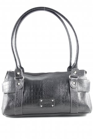 Gerry Weber Bolso barrel negro estampado de animales estampado animal