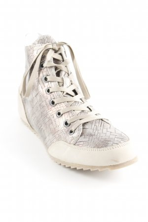 Gerry Weber Sneaker alta color oro rosa-beige stile casual