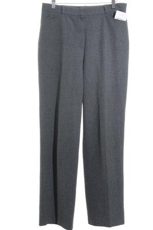 Gerry Weber Pantalon taille haute gris style décontracté