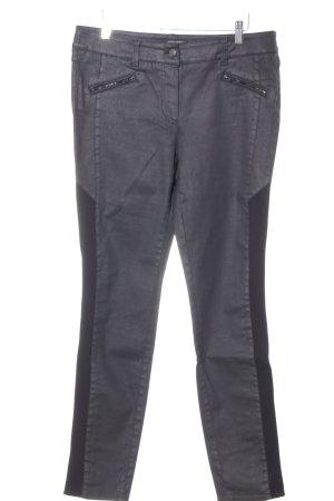 Gerry Weber Pantalone a vita alta nero stile casual