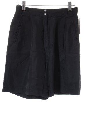 Gerry Weber High-Waist-Shorts schwarz Business-Look