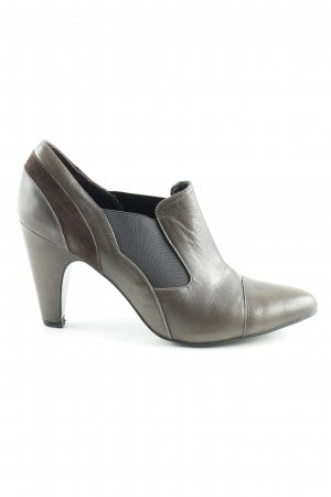 Gerry Weber Pumps met hoge zool grijs-bruin elegant