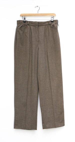 Gerry Weber Pantalón de cintura alta color bronce-marrón claro