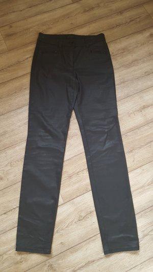 Gerry Weber Hose schwarz glänzend Größe R36