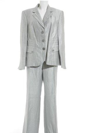 Gerry Weber Tailleur-pantalon gris clair style d'affaires