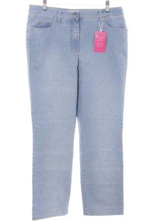 Gerry Weber Pantalone a vita bassa blu fiordaliso stile jeans