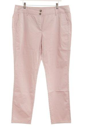Gerry Weber Pantalone a vita bassa rosa pallido stile casual