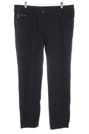 Gerry Weber Pantalone a vita bassa nero stile da moda di strada