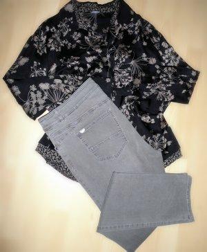 Gerry Weber Jeans elasticizzati marrone-grigio