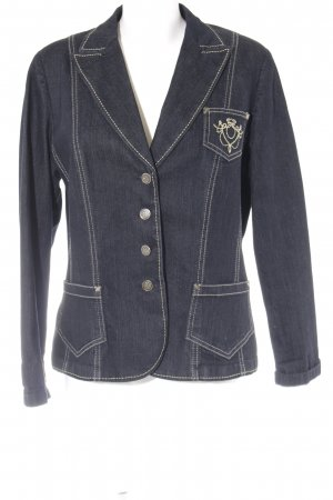 Gerry Weber Blazer in jeans blu scuro stile casual