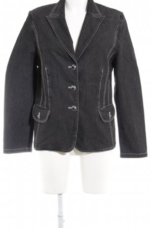 Gerry Weber Jeansjacke anthrazit Jeans-Optik