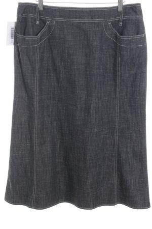 Gerry Weber Jeansrock graublau Jeans-Optik