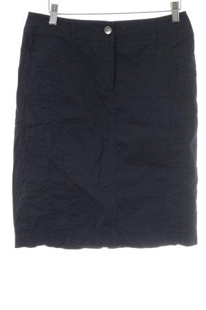 Gerry Weber Jupe en jeans noir style décontracté