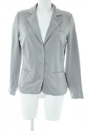 Gerry Weber Jerseyblazer hellgrau Business-Look
