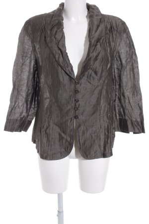 Gerry Weber Blazer in jersey marrone-grigio stile casual