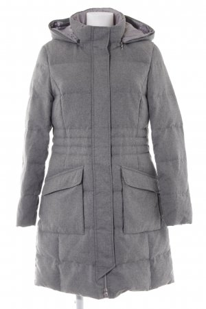 Gerry Weber Hooded Coat grey-light grey flecked casual look