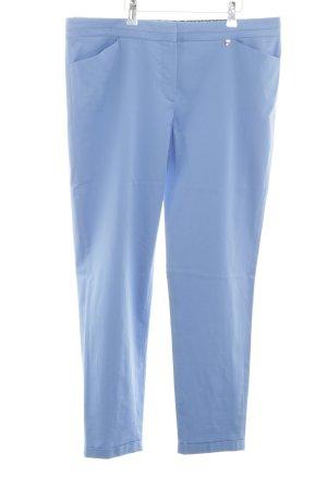 Gerry Weber Pantalón de pinza alto azul look casual