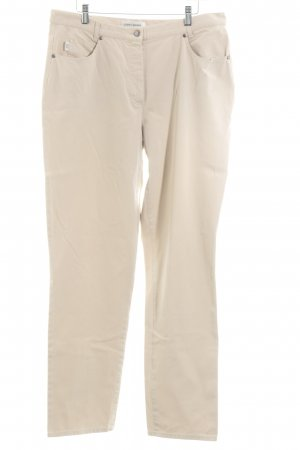 Gerry Weber Peg Top Trousers oatmeal casual look