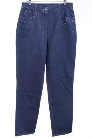 Gerry Weber Jeans carotte bleu style décontracté