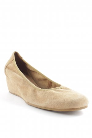 Gerry Weber Keil-Pumps beige Casual-Look