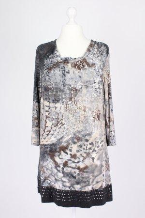 Gerry Weber Kleid mit Muster grau Größe 44