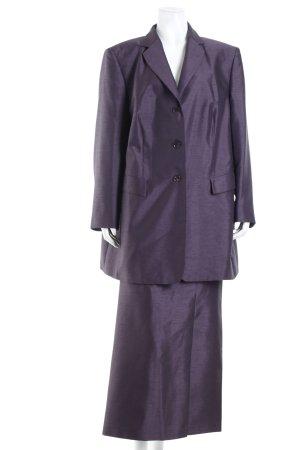 Gerry Weber Kostüm dunkelviolett Schimmer-Optik