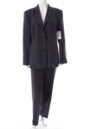 Gerry Weber Kostüm hellbeige-dunkelblau klassischer Stil
