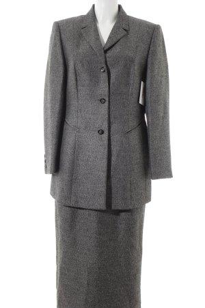 Gerry Weber Kostüm schwarz-grau Farbverlauf Business-Look