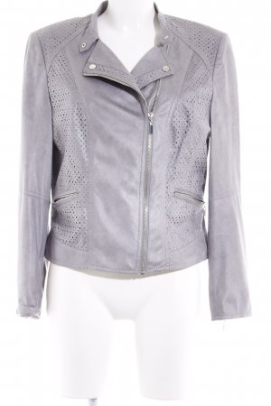 Gerry Weber Giacca in ecopelle grigio Stile ciclista