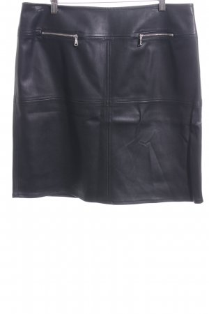 Gerry Weber Gonna in ecopelle nero stile casual